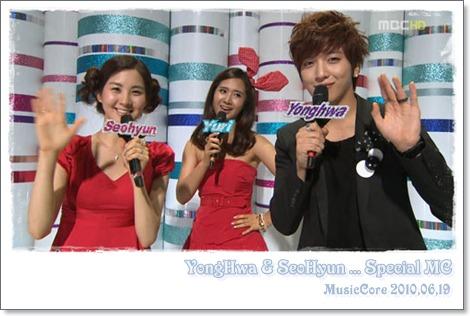 YongHwa & SeoHyun ... Special MC
