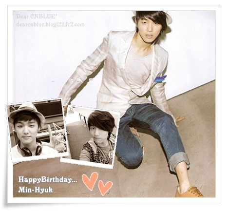 CNBLUE~Kang Min-Hyuk~**Happy Birthday**