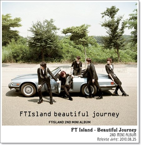 FT Island - Beautiful Journey~アルバムジャケット
