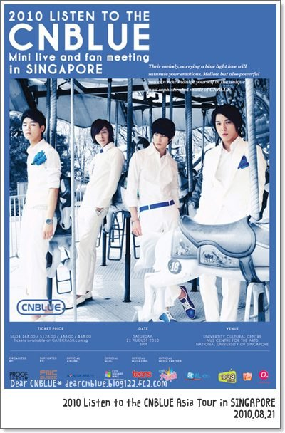 2010 Listen to the CNBLUE Asia Tour in Singapore(CNBLUEアジアツアー:シンガポール)