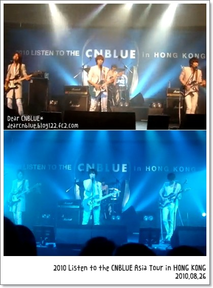 2010 Listen to the CNBLUE Asia Tour in Hong Kong(CNBLUEアジアツアー:香港)