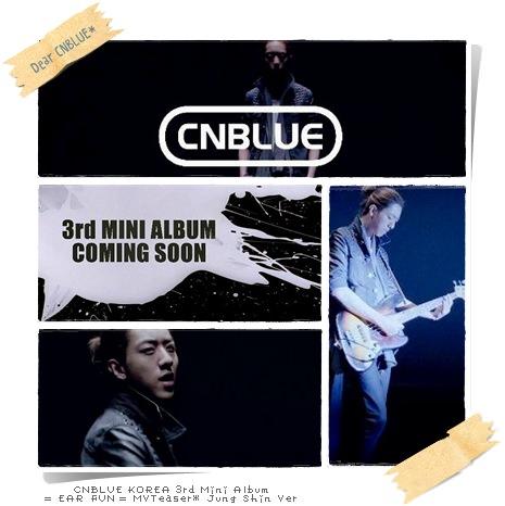 CNBLUE EAR FUN MVTeaser JungShin