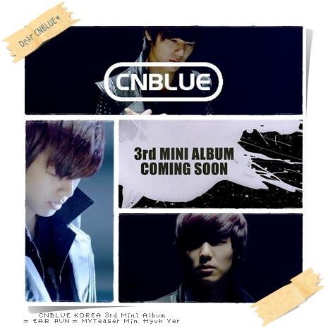CNBLUE EAR FUN MVTeaser MinHyuk