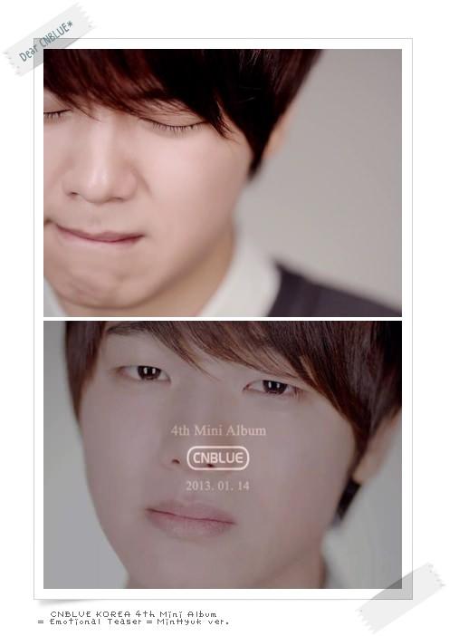 CNBLUE Emotional Teaser MinHyuk