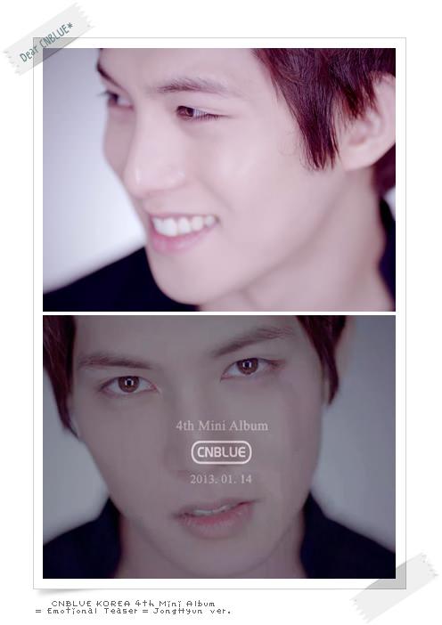 CNBLUE Emotional Teaser JongHyun