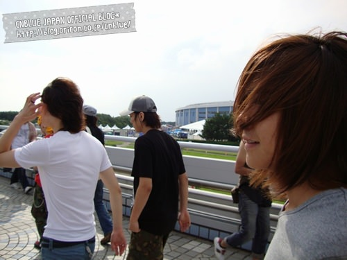 CNBLUE JAPAN BLOG 20090809