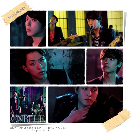 cnblue lady MV
