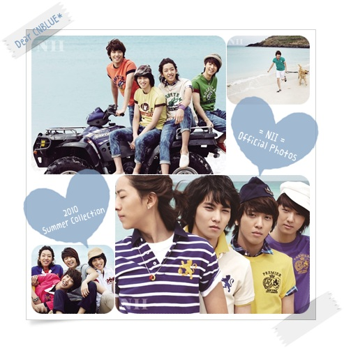 NII... 2010 Spring Collection(CNBLUEメンバー)