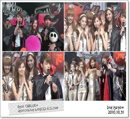 CNBLUE(ヨンファ)MC~人気歌謡