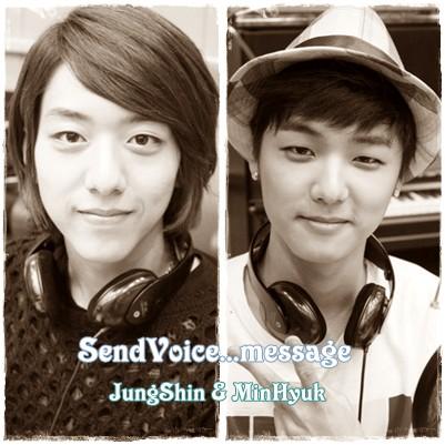 SendVoice...message(ミンヒョク、ジョンシン)