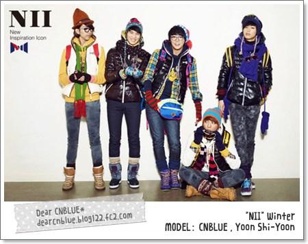 CNBLUE記事(NII~モデル)