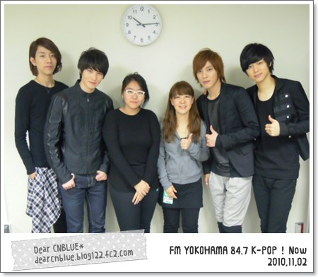 FM YOKOHAMA 84.7 K-POP!Now(CNBLUE)