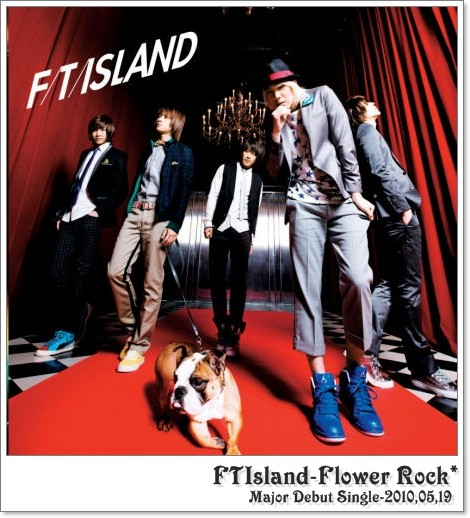 FTIsland-Flower Rockジャケ
