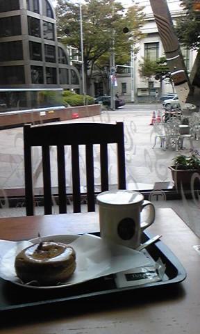 電気文化会館1階の喫茶室で288x480