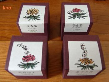 中国工芸茶4種