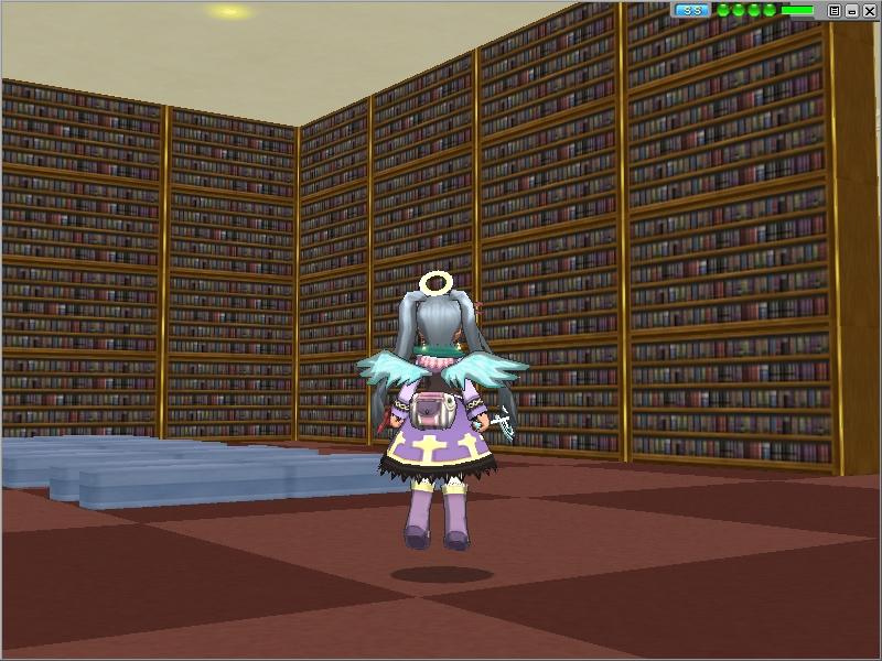 万象統ベル大図書館