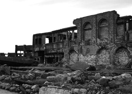 軍艦島34赤煉瓦4