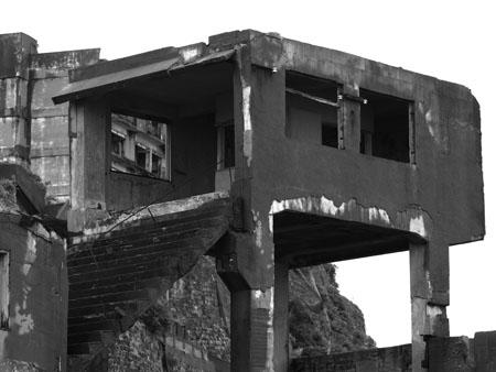 軍艦島35階段