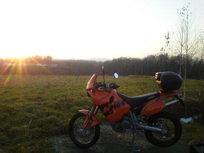夕日とマラサイ2