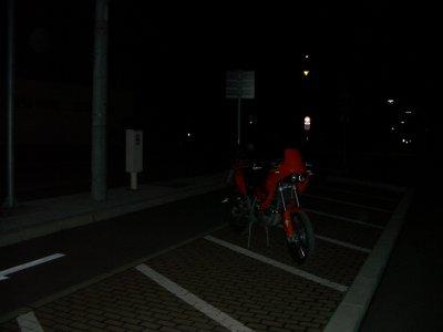 旭山動物園二輪駐車場1