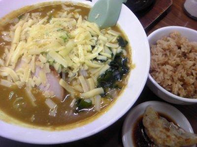 味の大王札幌店カレーチーズ