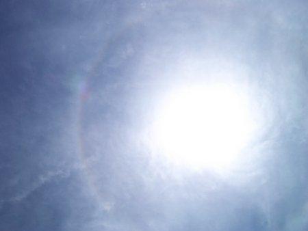 日暈(ひがさ、にちうん)02