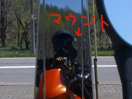 ヘルメットマウント