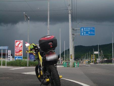 雨の陸別05