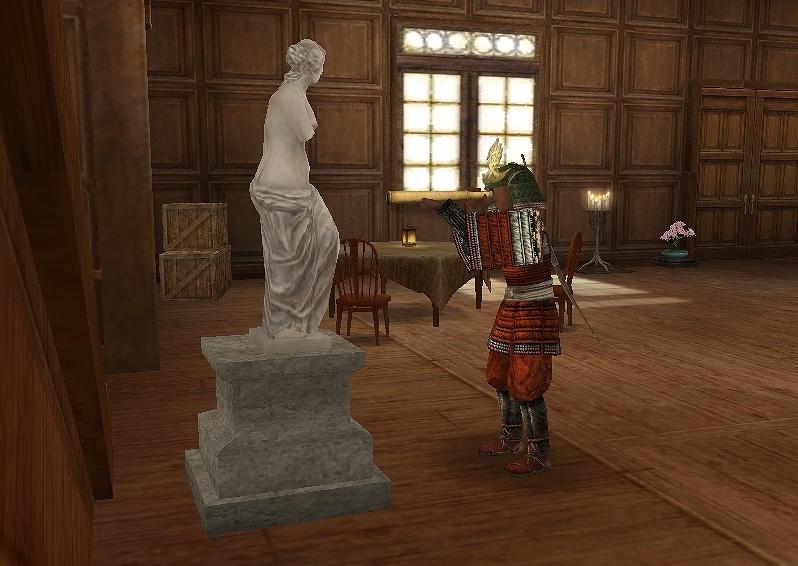 ビィーナス像とマネキン