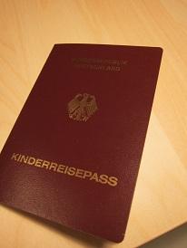 Kinderreisepass