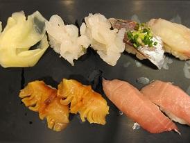 お寿司とか