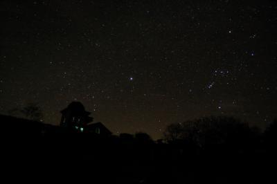 星空と天文台