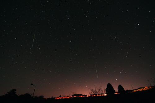 2010年12月 ふたご座流星群