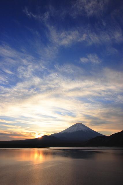 日の出 富士山