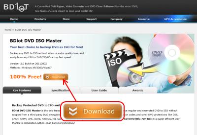BDlot DVD ISO MasterでISO作成コピーガードなん …