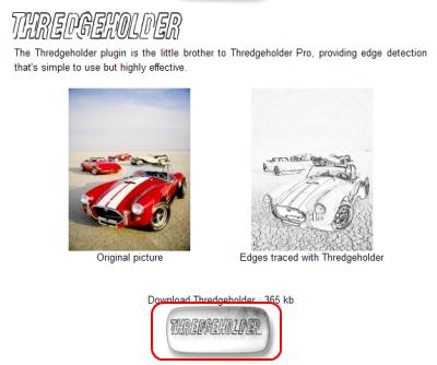 Thredgeholderダウンロードページ