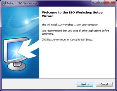 ISO Workshop インストール