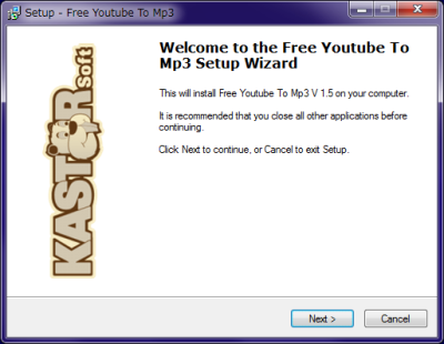 Kastor Youtube To Mp3 インストール