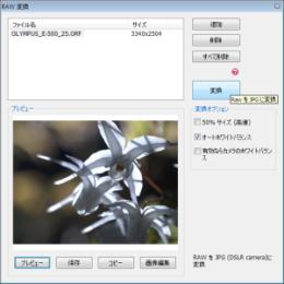 Photoscape RAW変換