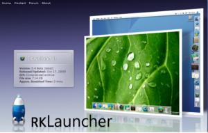 RKLauncherスクリーンショット