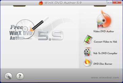 WinX DVD Author スクリーンショット