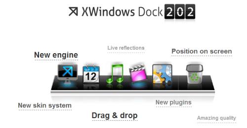 XWindowsDockスクリーンショット