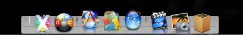 XWindowsDock テーマ NorthStar