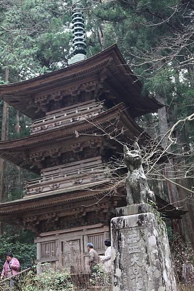 光前寺 開創1150年祭 霊犬早太郎と三重塔