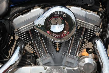 ハーレー883 Vツインエンジン