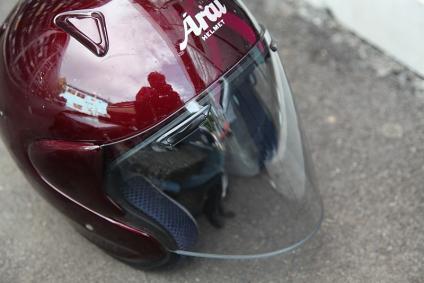 ヘルメット シールド新品