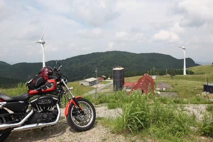 旧面ノ木牧場 風車 その2
