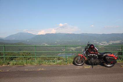 東濃牧場 恵那山を望む