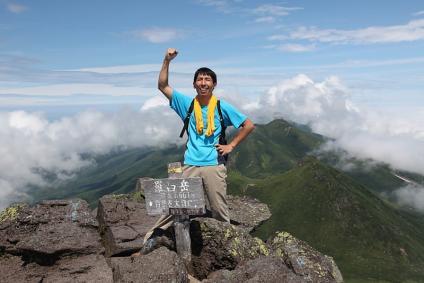 羅臼岳登頂