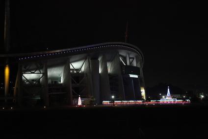 豊田スタジアムのイルミ-1
